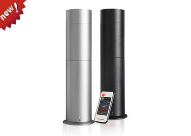 Cina Silver / Black Cylindrical Electric Perfume Diffuser With Remote Control pemasok
